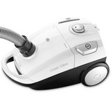 Bodenstaubsauger Classic Clean T6670 - Weiß, MODERN, Kunststoff (44/27/23cm) - Trisa Electronics