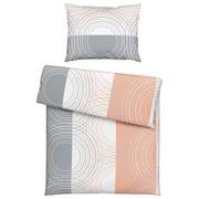 Bettwäsche Antonia 140/200cm Koralle - Orange, MODERN, Textil - Ombra
