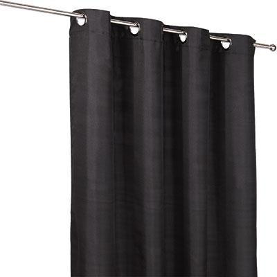 Készfüggöny Ocean - fekete, konvencionális, textil (140/245cm)