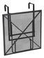 Balkonhängetisch Klappbar XL Toulouse Stahl L 70 cm - Grau, MODERN, Metall (70/88/79cm) - Greemotion