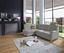 Wohnlandschaft in L-Form Sonoma 176x246 cm - Chromfarben/Silberfarben, KONVENTIONELL, Textil (176/246cm) - Ombra