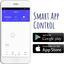 Staubsaugerroboter Robo Clean App Control - Anthrazit, MODERN, Kunststoff (33/8cm)