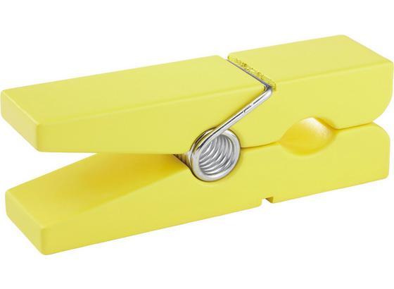 Nástěnný Držák Gams Žlutý Gams Žlutý - žlutá, Konvenční, dřevo (20/5/7,5cm)