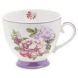 Jumbotasse Rosabella ca. 400 ml - Multicolor, ROMANTIK / LANDHAUS, Keramik (0,4l) - James Wood