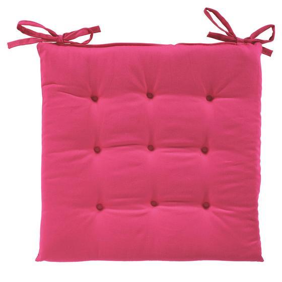 Sedák Lola -based- - růžová, textil (40/40/2cm) - Based