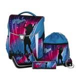 Kinderschultaschen Set Pop Star 5-Teilig - Blau/Pink, MODERN, Textil (31/39/17cm) - Schneiders