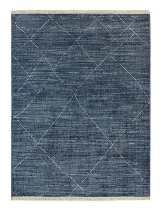 Koberec Tkaný Prestige 3 - modrá, textil (160/220cm) - Mömax modern living