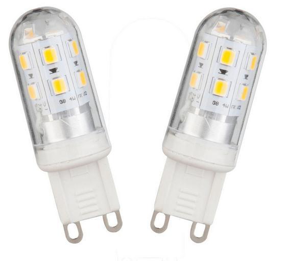 LED-Leuchtmittel Matilda - Kunststoff/Metall (1,7/5,2cm)