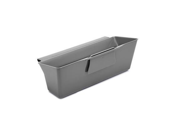 Abfallsammler Clean Tex Auffangschale für - Grau, Basics, Kunststoff (35,5/13,2/17,5cm)