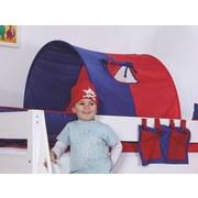 Tunnelset 2er Blau/ Rot - Blau/Rot, Design, Textil (180/13/16cm)