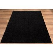 Hochflorteppich Neapel, 60/115 - Schwarz, MODERN, Textil (60/115cm)