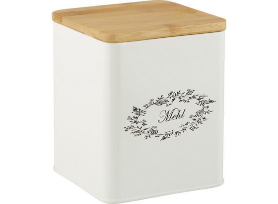 Box S Krytom Lore - biela, Romantický / Vidiecky, kov/drevo (14/14/16cm) - Zandiara