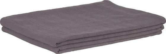 Prehoz Solid One -ext- - tmavosivá, textil (140/210cm)
