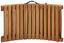Lehátko Bora - čierna, Moderný, drevo/textil (186/54/56cm) - Modern Living