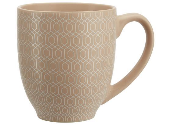 Hrnek Na Kávu Honeycomb - růžová, Moderní, keramika (9,5/11cm) - Mömax modern living
