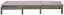 Lehátko Z Polyratanu Sarah - sivá/svetlosivá, Moderný, umelá hmota/kov (60/28/198cm) - Modern Living
