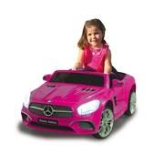 Kinderauto Ride-On Mercedes-Benz Sl 400 Pink - Pink, Basics, Kunststoff (108/63/45cm)