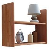 Hängeregal Simone 60x45cm Massiv, Buche - Buchefarben, Basics, Holz (60/45/20cm) - Carryhome