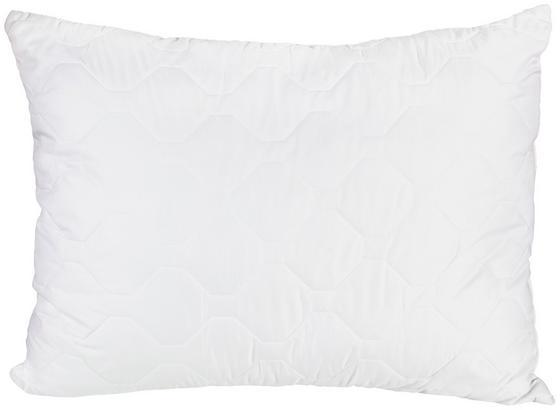 Kopfpolster Mona mit Wabensteppung 70x90 cm - Weiß, Textil (70/90cm)