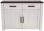 Cipősszekrény Provence - Wenge/Fehér, modern, Faalapú anyag (116/82/42cm) - James Wood