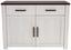 Komoda Provence - bílá/barvy wenge, Moderní, kompozitní dřevo (116/82/42cm) - James Wood