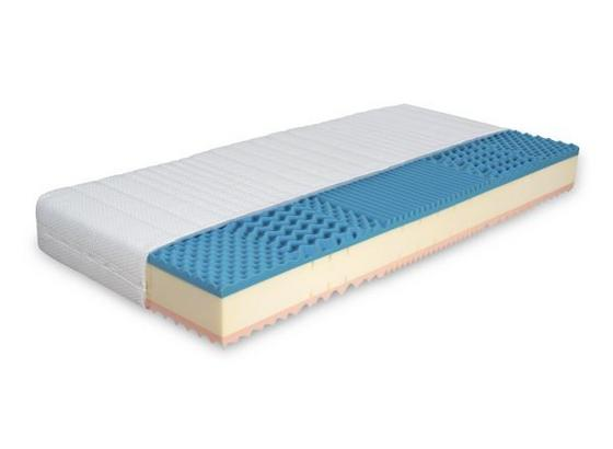 Matrace Viva Alfa H2/h3 160x200cm - bílá, Konvenční, textil (200/160/20cm)
