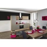 Küchenblock L-270-2201-028-riva - Champagner/Eichefarben, MODERN, Holzwerkstoff (270cm)