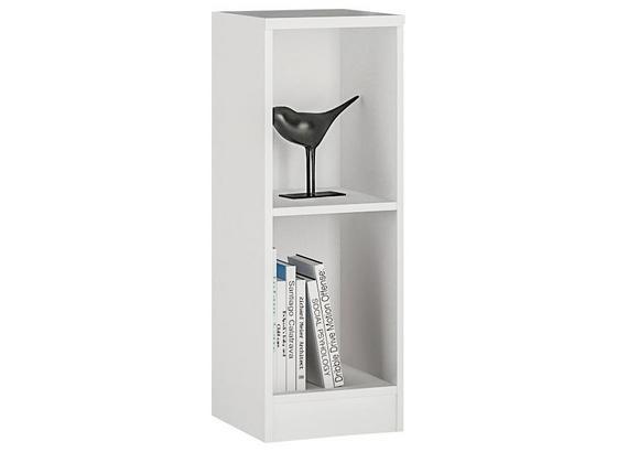 Regal 4-You B 30cm, Weiß - Weiß, MODERN, Holz (30/85,5/35,2cm)