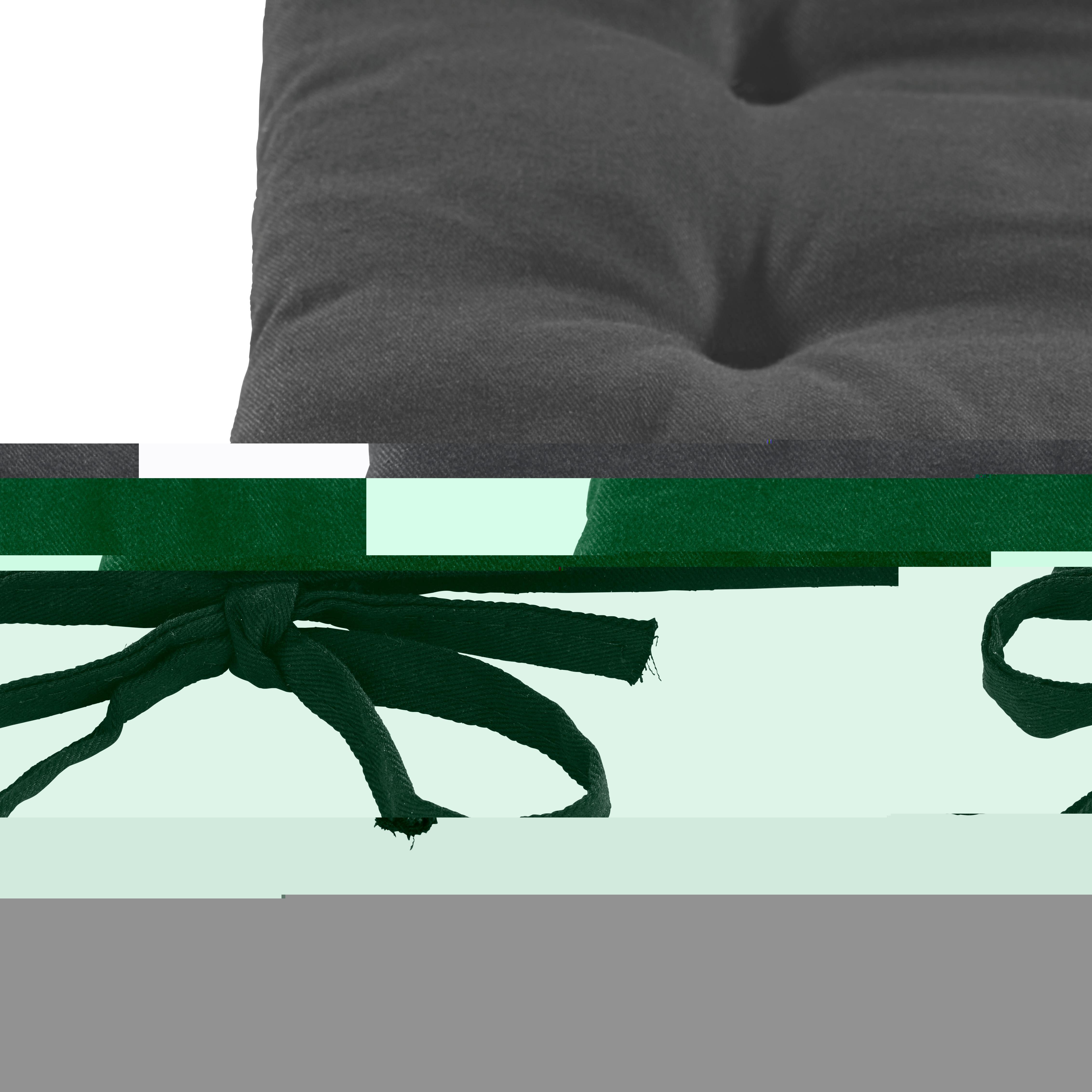 Sedák Lola -based- - černá, textil (40/40/2cm) - BASED