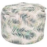 Sitzsack Jungle - Beige/Grün, MODERN, Textil (85/85/120cm) - OMBRA