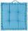 Polštář Bill - modrá, textilie (40/40/9cm) - Mömax modern living