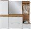Schuhkipper Space New - Eichefarben/Weiß, MODERN, Holzwerkstoff (100/99/35cm)
