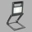 LED-Außenleuchte Tunga - Klar/Anthrazit, MODERN, Kunststoff/Metall (21,5/17,6/55,8cm)