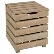 Hochbeet Holz Torino LxBxH: 39x39x44 cm - MODERN, Holz (39/39/44cm) - James Wood