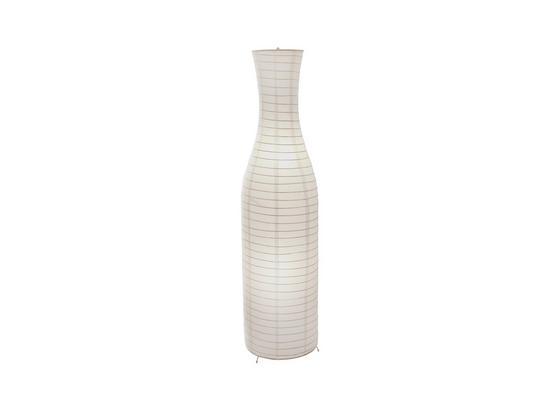 Stehleuchte Pia - Weiß, KONVENTIONELL, Kunststoff/Metall (34,5/125cm) - Ombra