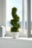Dekopflanze Maggie - Grau/Grün, MODERN, Keramik/Kunststoff (56cm) - Luca Bessoni