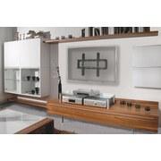 TV-Wandhalter Wf 120 B: 70 cm - Schwarz, KONVENTIONELL, Metall (70/48/3,5cm) - Livetastic