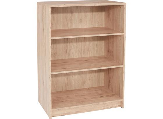 Regál 4-you Yur02 - barvy dubu, Moderní, kompozitní dřevo (74/111,4/34,6cm)