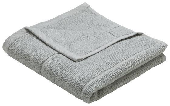 Ručník Anna - barvy stříbra, textil (50/100cm) - Mömax modern living
