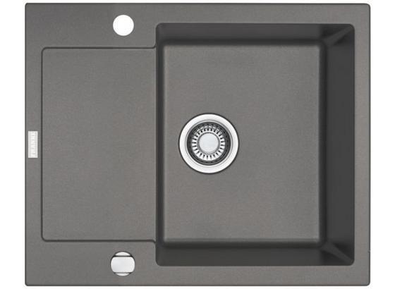 Spüle Mrg 611-62 - Grau, Stein (62/50cm)
