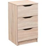 Sideboard grifflos B 41cm Westphalen, Sonoma Eiche Dekor - Sonoma Eiche, Design, Holzwerkstoff (41/71/40cm) - Livetastic
