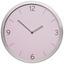 Hodiny Nástěnné Sally - růžová/barvy stříbra, kov/sklo (30,5cm) - Mömax modern living