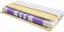 Taschenfederkernmatratze Visco Dream H3 90x200 - Weiß, KONVENTIONELL, Textil (200/90/22cm) - Primatex Deluxe