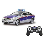 Fernlenkauto Mercedes-Benz Polizeiauto - Blau/Rot, Basics, Kunststoff (29,6/12,6/9,5cm)