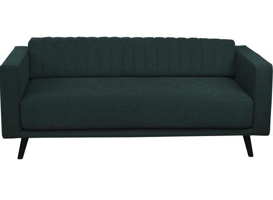 Zweisitzer-Sofa Thomas B: 148 cm Anthrazit - Anthrazit, Basics, Textil (148/90/94cm)