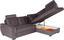 Sedací Souprava Falco - tmavě šedá, Konvenční, kov/dřevo (251/183cm) - Ombra