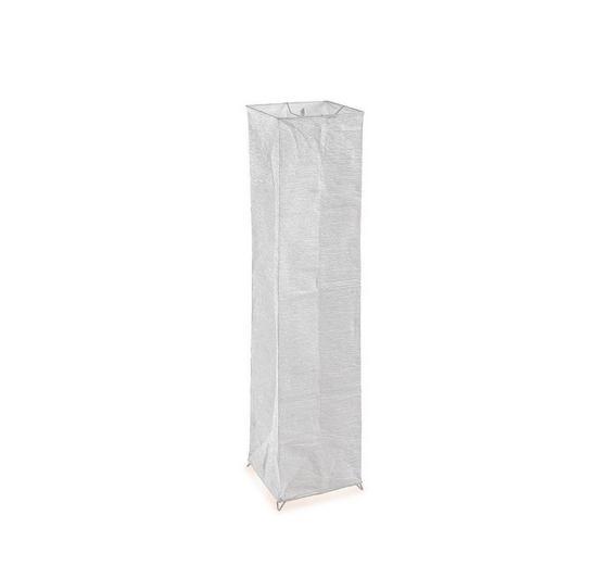 Stehleuchte Luisa - Weiß, KONVENTIONELL, Papier/Kunststoff (120cm) - Ombra