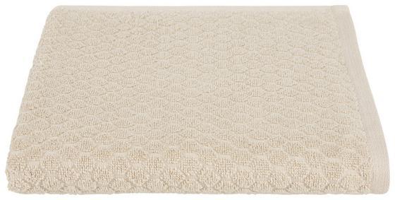 Törölköző Elena - bézs, modern, textil (50/100cm) - LUCA BESSONI