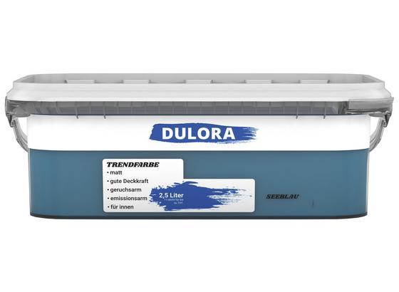 Wandfarbe 2,5 Liter Seeblau - Dunkelblau (2,5l) - Dulora