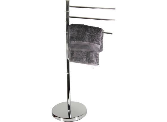 Držiak Na Uteráky Florenz 3 B991775 - strieborná, Konvenčný, kov (27/67/88,5cm) - James Wood